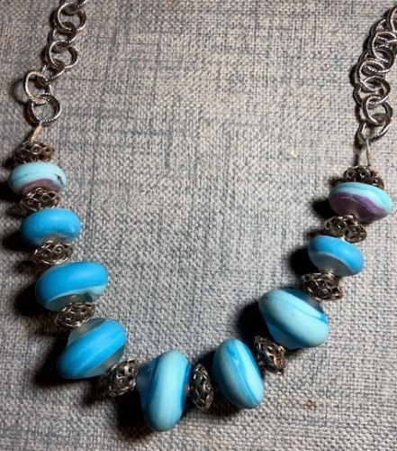 Treasured Turquoise Silver Necklace
